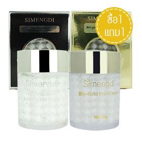 ซื้อ 1 แถม 1 Simengdi Pearl Phyto Silver Balancing Day Cream + Bio – Gold Pearl Cream (60gx2)