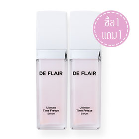 ซื้อ 1 แถม 1 De Flair Ultimate Time Freeze Serum (30ml x 2)