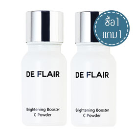 ซื้อ 1 แถม 1 De Flair Brightening Booster C Powder (10g x 2)