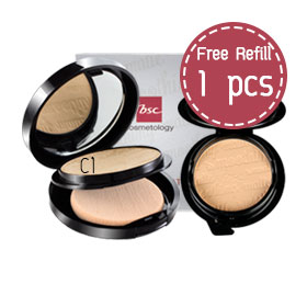 ซื้อ 1 แถม 1 BSC Smoothing Matte Powder #C1 (Free! Refill) (10.5x2pcs)