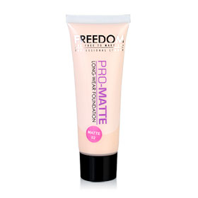 Freedom Pro Matte Foundation 30ml #02 Matte