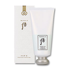 The History of Whoo GongJinHyang Seol Brightening Cleansing Foam 180ml