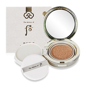 The History of Whoo GongJinHyang Seol Radiant White Moisture Cushion Foundation SPF50+ PA+++ #21