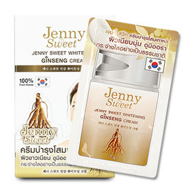 Jenny Sweet Whitening Ginseng Cream (7g x 12pcs)