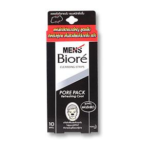 Biore Men Pore Pack Black Refreshing Cool 10pcs