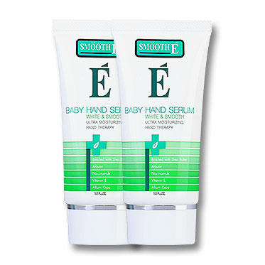 แพ็คคู่ Smooth E White & Smooth Baby Hand Serum (30g x 2)