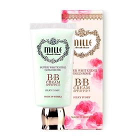Mille Super Whitening Gold Rose BB Cream SPF30PA++ 30g #1 Silky Ivory