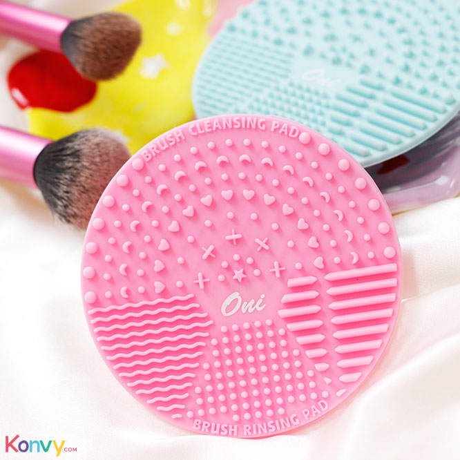 Oni Brush Cleansing Pad #Pink_1