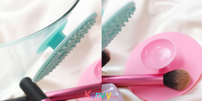 Oni Brush Cleansing Pad #Pink_2