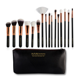NANI SoMatte Rose Gold PRO Brush Set 15pcs