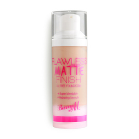 Barry M Flawless Matte Finish Oil Free Foundation 30g #Nude