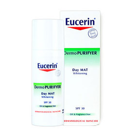 Eucerin Dermo Purifyer Day Mat Whitening 3in1 SPF30 (With Box) 50ml