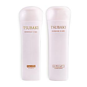 ซื้อ 1 แถม 1 Tsubaki Damage Care (Shampoo 220ml #61014 + Conditioner 220ml #61016)