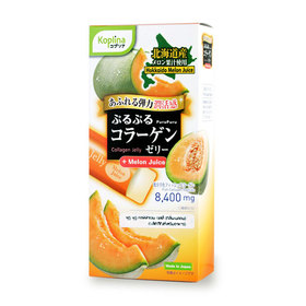 PuruPuru Collagen Jelly Melon Flavor (70g x 7 Sachets)
