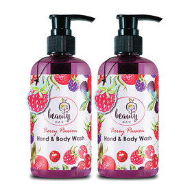 ซื้อ 1 แถม 1 EARTHs Beauty Bar Berry Passion Hand & Body Wash (250ml x 2)