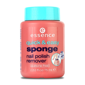 Essence Quick&Easy Sponge Nail Polish Remover 75ml