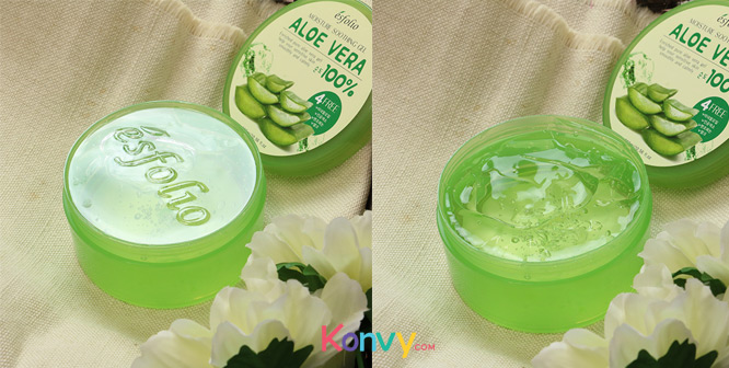Esfolio Moisture Soothing Gel Aloe Vera 100% 300ml_2
