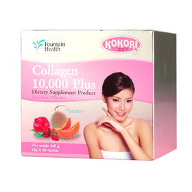 Kokori Collagen 10,000 Plus Dietary Supplement Product (30 Sachets x 1 Boxes)