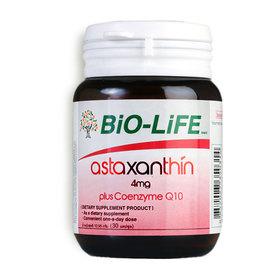 Bio-Life Astaxanthin 4mg Plus Coenzyme Q10 30 Capsules
