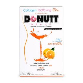 Donutt Collagen 10000mg Plus (15g x 10 Sachets) #Orange Flavor