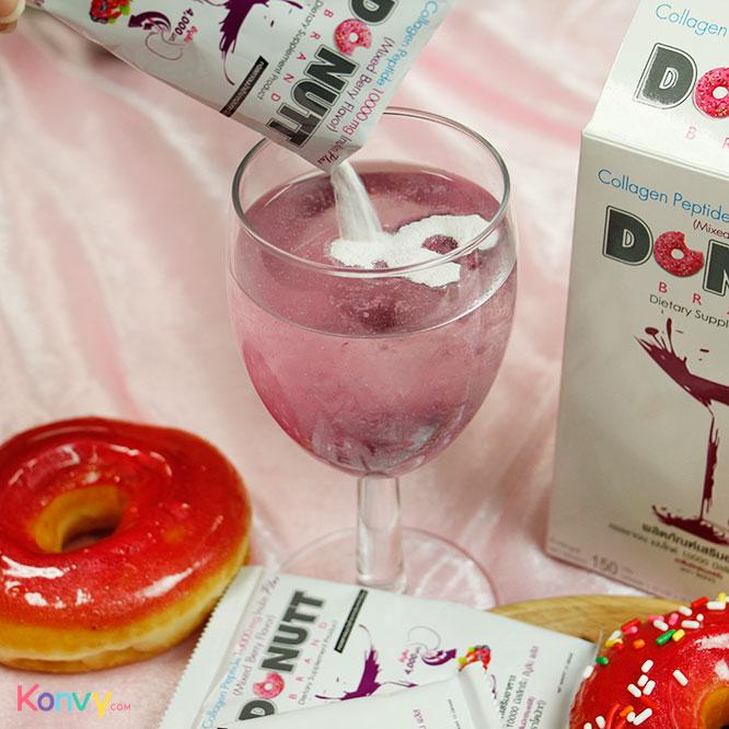 Donutt Collagen 10000mg Plus (15g x 10 Sachets) #Mixed Berry Flavor_3