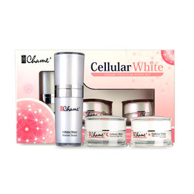Chame Cellular White Set (3Items)
