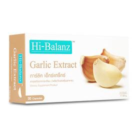 Hi-Balanz Garlic Extract 30 Capsules