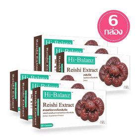 Set Hi-Balanz Reishi Extract (30 Capsules x 6 Box)