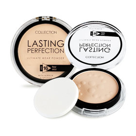 แพ็คคู่ Collection Lasting Perfection Powder 9gx2 #01 Fair