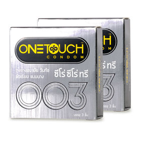 One Touch Zero Zero Three condom 52mm (3pcsx2boxes)