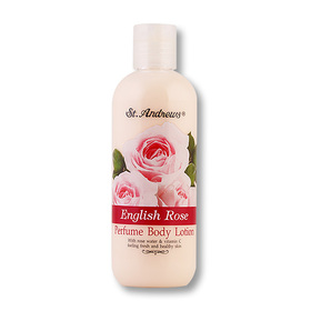 St. Andrews English Rose Perfume Body Lotion 250ml