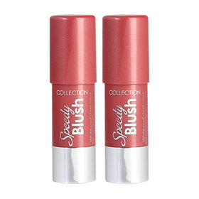 แพ็คคู่ Collection Speedy Blush Stick #01 Tickled Pink (2pcs)