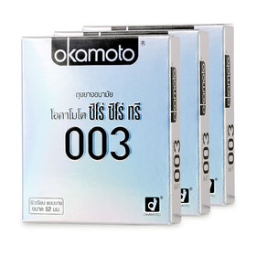 Okamoto Zero Zero Three Condom 52mm (2pcsx3boxes)