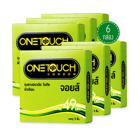 One Touch Joys condom 49mm (3pcsx6boxes)