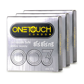 One Touch Zero Zero Three Condom 52mm (3pcsx3boxes)
