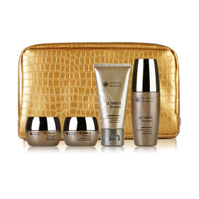 Oriental Princess Ultimate Renewal Set 4 Items (Cleansing Foam 50g, Toner 50ml, Day Cream 20g, Night Cream 20g)