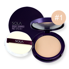 Sola Bright Shimmer Pact SPF35 PA++ 12g #1