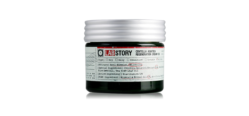 Labstory Centella Asiatica Regeneration Cream 50 60ml