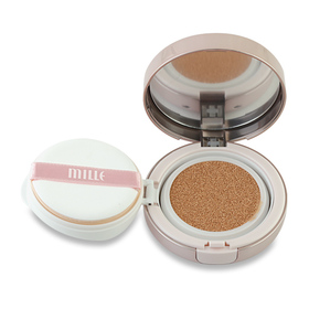 Mille Whitening Oil Control Cushion Matte Coverage SPF50 PA++ #Natural Beige
