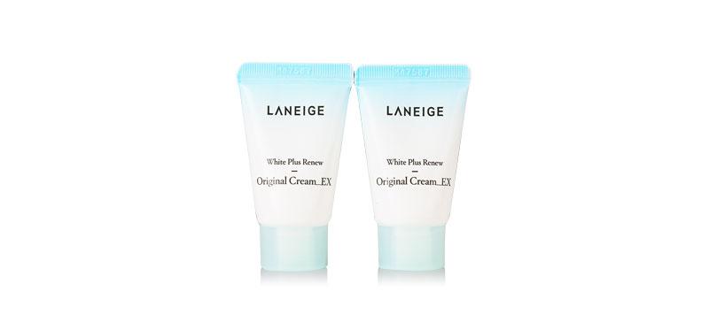 แพ็คคู่ Laneige White Plus Renew Original Cream (10ml x2)