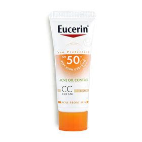 Eucerin Sun Protection SPF50+/PA++++ Acne Oil Control CC Cream 7ml