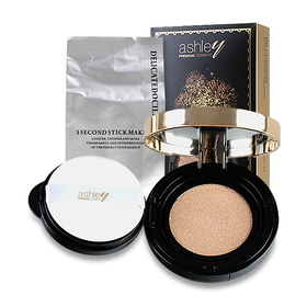 Ashley Double Color Sense Of Water Isolation BB Cushion 15g #02
