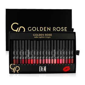 Golden Rose Matte Crayon Lipstick Set 21 Colors
