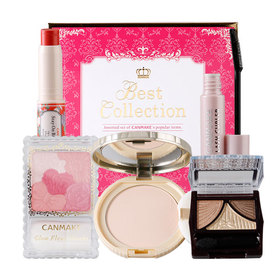 Canmake Gift Box Best Collection 2016 Set 5 Items