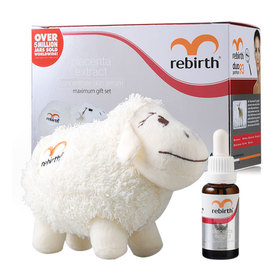 Rebirth Placenta Extract Concentrate Skin Serum Maximum Gift Set (Serum 25ml Free! Dolly The Sheep)