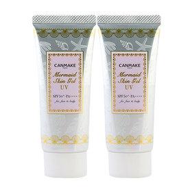 แพ็คคู่ Canmake Mermaid Skin Gel UV SPF50/PA++++ 40gx2
