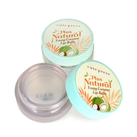 ซื้อ 1 แถม 1 Cute Press Plus Natural Young Coconut Lip Balm (6.5g x 2)