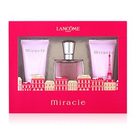 Lancome Miracle Set (Bath And Shower Gel, Eau De Parfum, Perfumed Body Lotion )