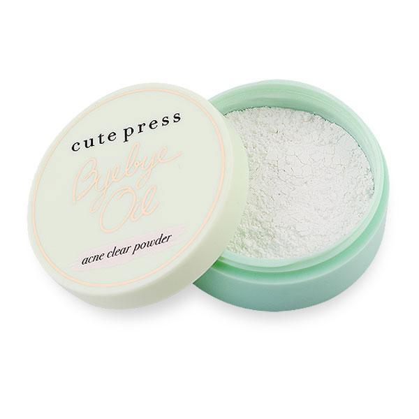 Cute+Press+Bye+Bye+Oil+6g+%23Acne+Clear+Powder