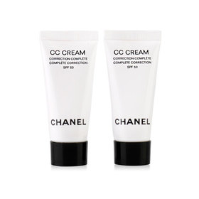 แพ็คคู่ Chanel Complete Correction CC Cream SPF50 #10 Beige (5mlX2pcs)